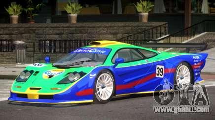 McLaren F1 GTR Le Mans Edition PJ3 for GTA 4