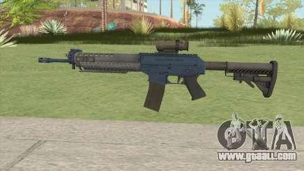 SG-553 Navy (CS:GO) for GTA San Andreas