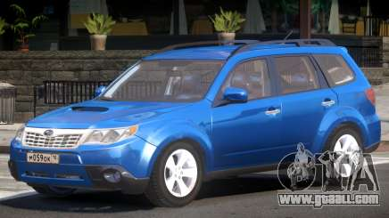 Subaru Forester Improved for GTA 4