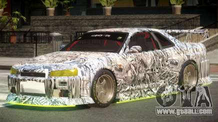 Nissan Skyline GT R34 V1.1 PJ4 for GTA 4