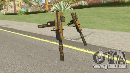 Micro SMG (Luxury Finish) GTA V Two Upgrades V4 for GTA San Andreas