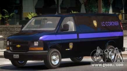 Chevrolet Express PJ1 for GTA 4