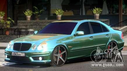 Mercedes E63 V1 for GTA 4