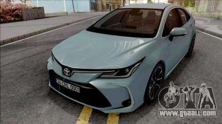 Toyota Corolla 2020 for GTA San Andreas