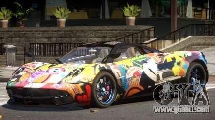Pagani Huayra GT V1.0 PJ for GTA 4