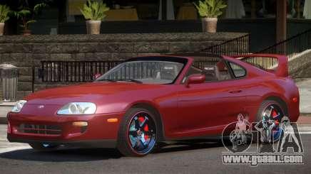 Toyota Supra RZ Tuning for GTA 4
