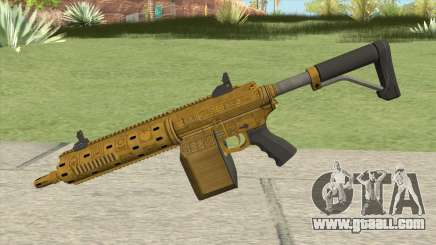 Carbine Rifle GTA V (Luxury Finish) Base V1 for GTA San Andreas