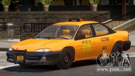 Dodge Intrepid Taxi V1.0 for GTA 4