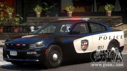 Dodge Charger Police V1.0 for GTA 4