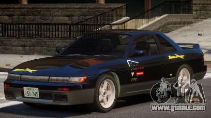 Nissan Silvia S13 ST PJ1 for GTA 4