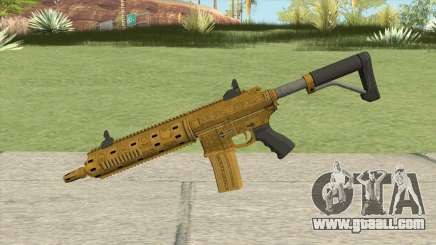 Carbine Rifle GTA V (Luxury Finish) Base V2 for GTA San Andreas