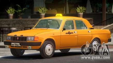 Volga 31029 Taxi V1.0 for GTA 4