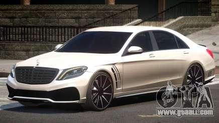Mercedes S63 W222 V1.0 for GTA 4