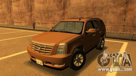Cadillac Escalade 2007 for GTA San Andreas