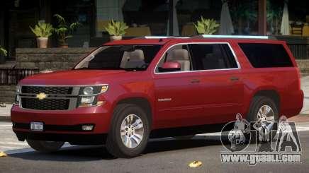 Chevrolet Suburban V1.3 for GTA 4