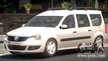 Dacia Logan V1.2 for GTA 4