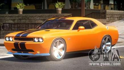 Dodge Challenger SRT8 Tuned V1 for GTA 4