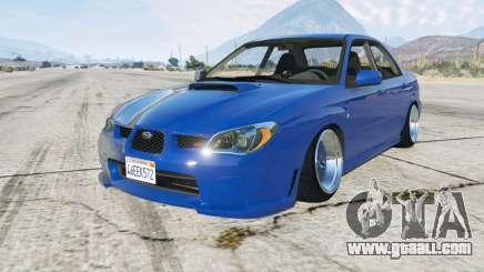 Subaru Impreza WRX STi (GDB) 2006 for GTA 5