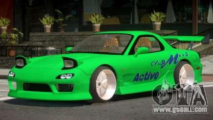 Mazda RX-7 GTS for GTA 4