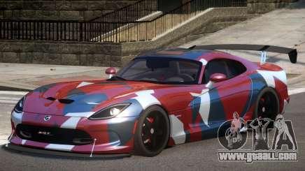 Dodge Viper GTS V1.1 P2 for GTA 4