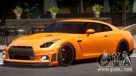 Nissan GT R35 V1.0 for GTA 4