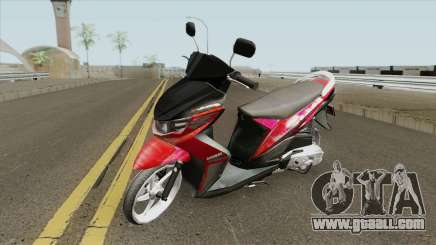 Yamaha Soul GT Babylook for GTA San Andreas