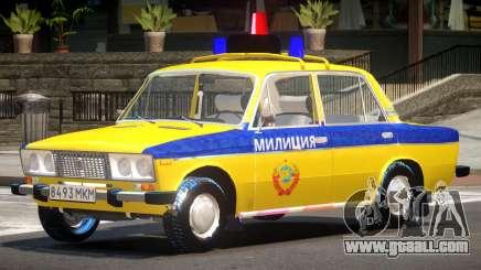 VAZ 2106 Police for GTA 4
