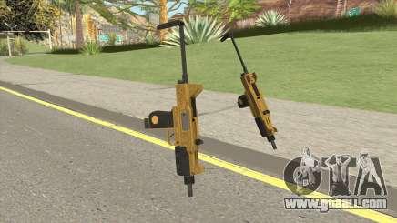Micro SMG (Luxury Finish) GTA V Base V3 for GTA San Andreas