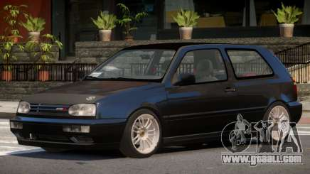 1998 Volkswagen Golf Tuned for GTA 4