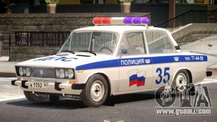 VAZ 2106 Police V1.1 for GTA 4