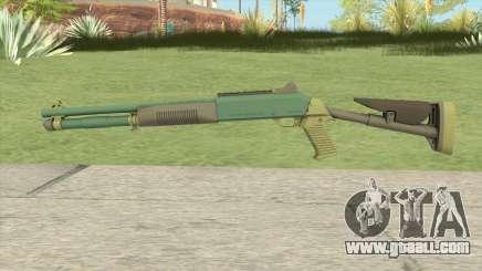XM1014 Jungle Bravo (CS:GO) for GTA San Andreas