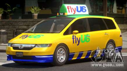 Honda Odyssey FlyUS V1.0 for GTA 4