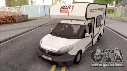 Fiat Doblo Mk3 Wohnmobile for GTA San Andreas