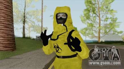 Biohazard Skin for GTA San Andreas