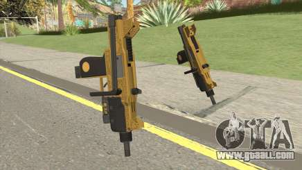 Micro SMG (Luxury Finish) GTA V Flashlight V1 for GTA San Andreas