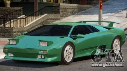 1990 Lamborghini Diablo V1.3 for GTA 4