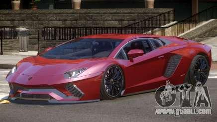 Lambo Aventador GT for GTA 4