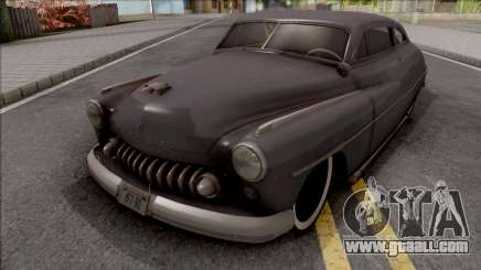 Mercury Coupe Custom 1949 for GTA San Andreas