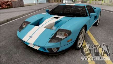 Ford GT 2005 LQ IVF for GTA San Andreas