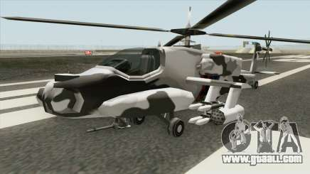 New Hunter Helicopter for GTA San Andreas