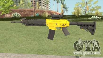 SG-553 Yellow (CS:GO) for GTA San Andreas