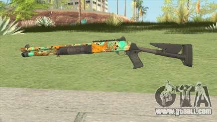 XM1014 Nuclear Skulls (CS:GO) for GTA San Andreas