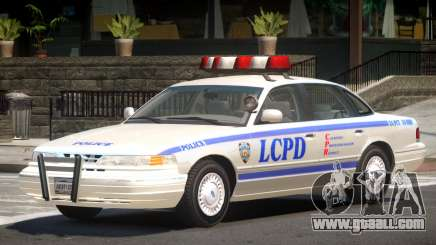 Ford Crown Victoria Police V1.1 for GTA 4