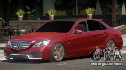 Mercedes Benz E63 W212 Tuned for GTA 4