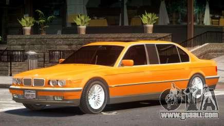 BMW 750IL E38 Tuned for GTA 4