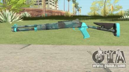XM1014 Fractal Blue (CS:GO) for GTA San Andreas
