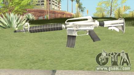 M4 (White) for GTA San Andreas