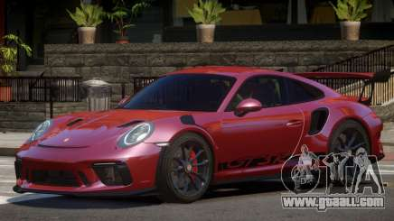 Porsche GT3 V1.2 for GTA 4
