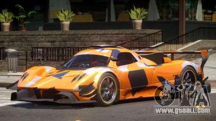Pagani Zonda GT-R PJ2 for GTA 4
