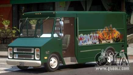 Chevrolet Step Van PJ1 for GTA 4